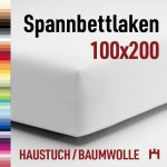Schlafgut Haustuch Spannbettlaken 12011-100×200