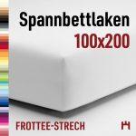 Schlafgut Spannbettlaken Frottee-Stretch 50421-100×200