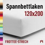 Schlafgut Spannbettlaken Frottee-Stretch 50421-120×200