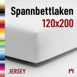 Schlafgut Spannbettlaken Single-Jersey 50041- 120x200cm